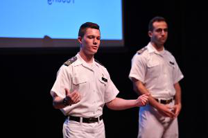 Cadet Pitches during 2019 Business Leadership and Innovation Summit BLIS