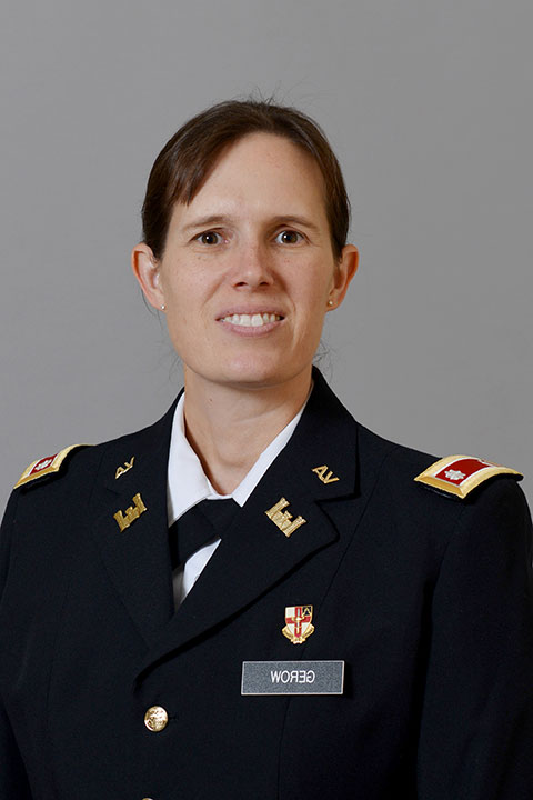 Maj. Jennifer E. Gerow, Ph.D.